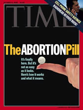 An introduction to the advantages of abortion and ru 486 pill