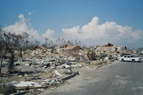 Aftermath of Hurricane Katrina, Returning to a Workplace
