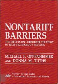 main types of non tariff barriers Article shared by:  this article throws light upon the two main types of trade barriers the types are: 1 tariff barriers 2 non-tariff barriers.