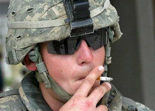 Smoking in the Military