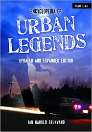 urban legend research paper Paper it was discovered that a substantial amount of academic research has  been  throughout the literature on urban legends and internet hoaxes, a  common.