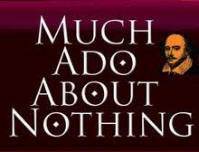 Much ado about nothing comparison essay